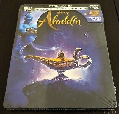 Disney ALADDIN Live Action 4K UHD + Blu-Ray + Digital Best Buy Limited