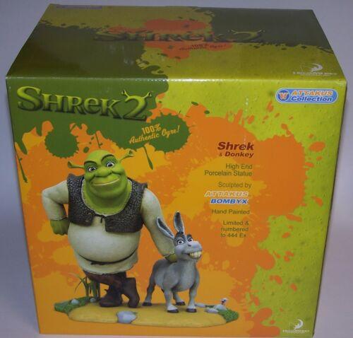 "Shrek 2 Puss in Boots Cold Cast Porcelain Statue 10"" Tall Dreamworks 2005 NIB"