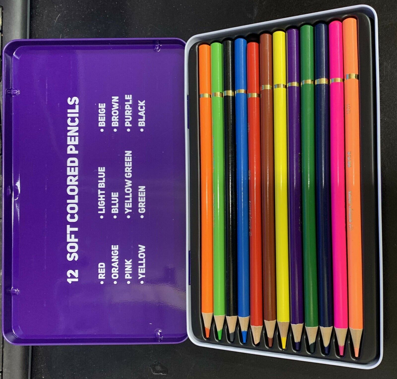 GYY Professional Colored Pencils Set 48 Color Crayon Set Portable Pencil Set of 48 Distinct Colors for Kids School Artist Adult Beginner Children Colored Pencils Set