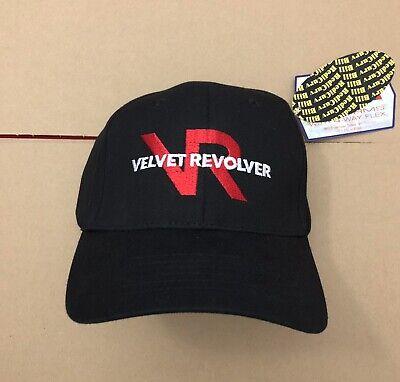 Vtg NWT Velvet Revolver Hat Flex Fit Fitted Cap Rock Metal Guns N Roses Rare