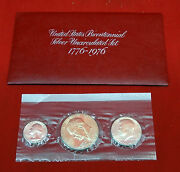 Bicentennial Silver Uncirculated Set 1776-1976