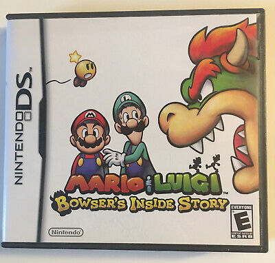 Mario & Luigi - Bowsers Inside Story - Nintendo DS Case And Manual