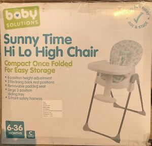Sunny Time Hi/Lo high chair