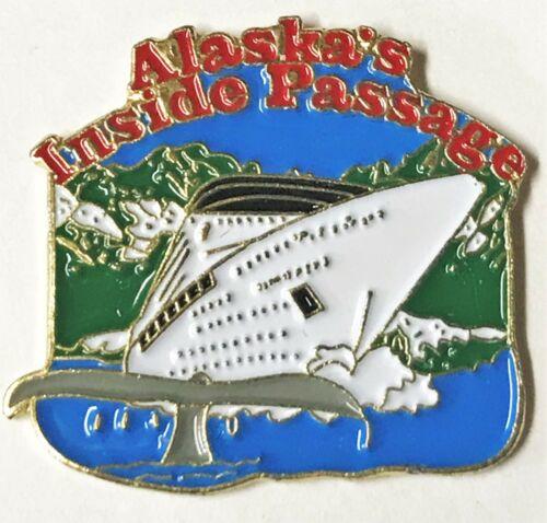 """Vtg Hat Lapel Pin """"Alaska"""