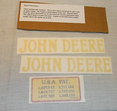 Decal Set For 1.5 Hp John Deere E Hit Miss Gas Engine