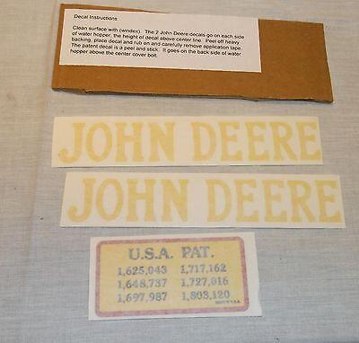 Decal Set For 1.5 Hp John Deere E Hit Miss Gas Engine