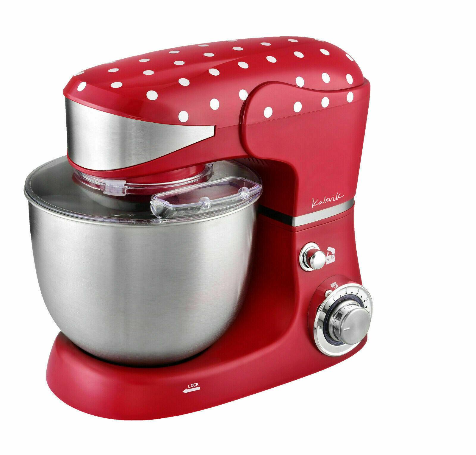 TEAM-KALORIK M 3014, Küchenmaschine, Rührschüssel-Kapazität: 5 Liter, 1000 Watt