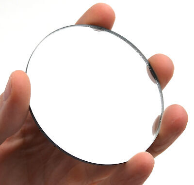 Round Concave Glass Mirror - 3 75mm Diameter - 150mm Focal Length - 3mm