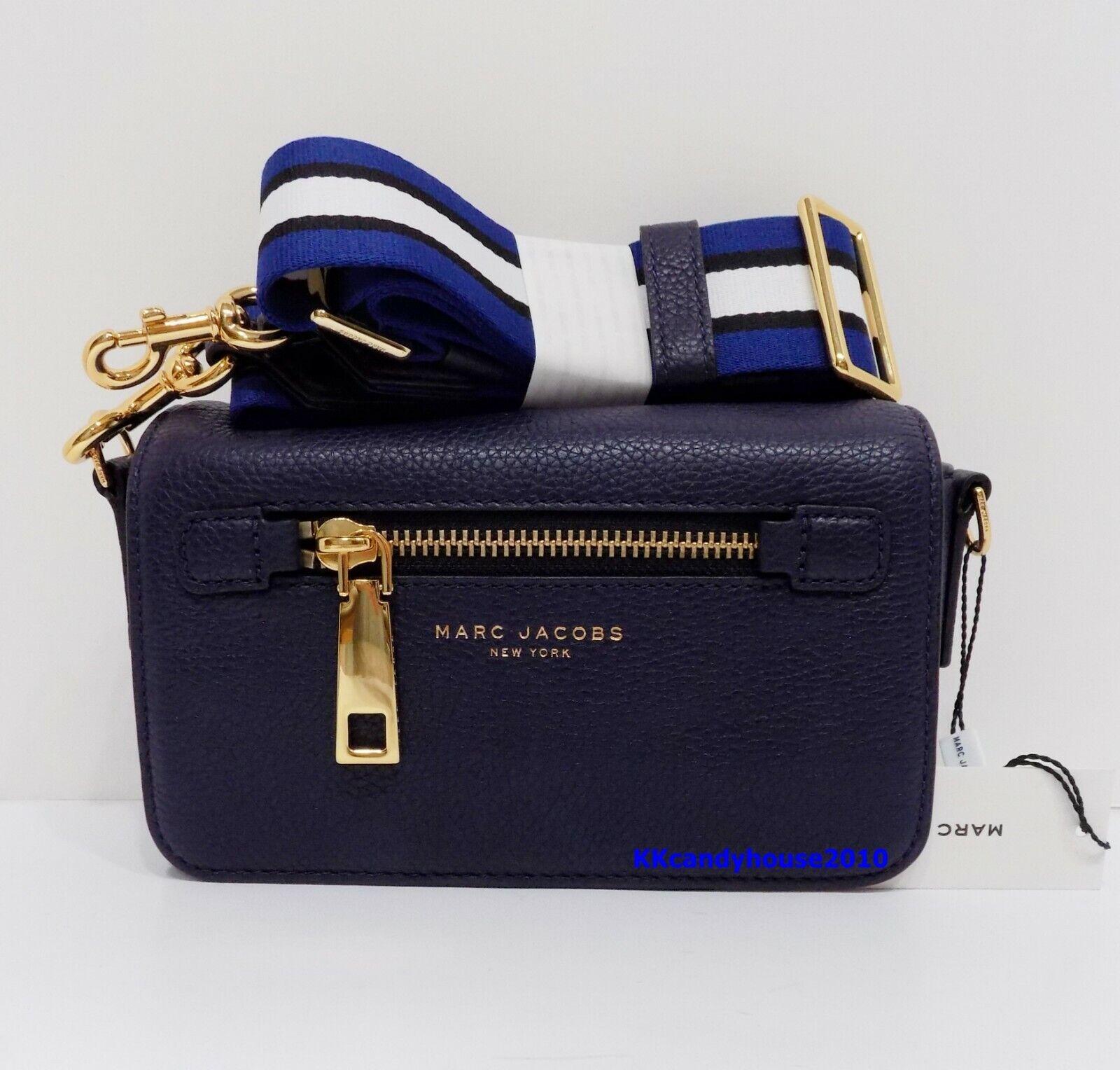 NWT Marc Jacobs Gotham Crossbody Leather Bag ~ Navy ~ M00154