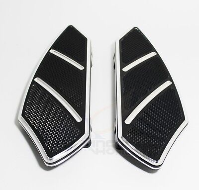 Groove Rider Front FootBoard Floorboard For Harley Touring FLHT Electra Glide