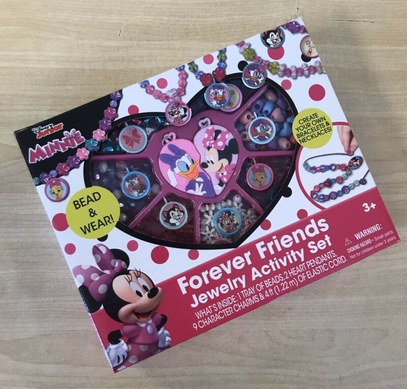Disney Junior Minnie Forever Friends Jewelry Activity Play Set - NEW!