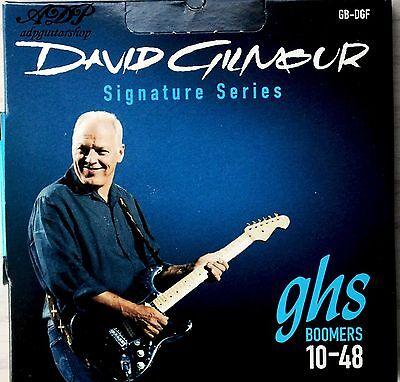 2 Juegos Cuerdas GHS David Gilmour Blue 10-48 Guitarra Eléctrica Cuerdas Set