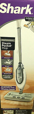 Shark Professional Steam Pocket Mop XL Tank Dust Scrub Hard Floor Cleaner S3801