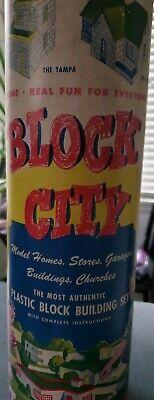 Vintage Block City Building Set, 290 + Pieces!! for sale  Spokane