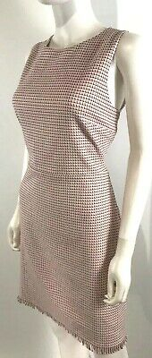 Loft Sheath Dress NEW Fringe Tweed Spring Summer Career NWT MSRP $79 -