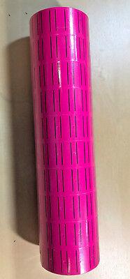10 Rolls 5000 Tags Pink Labels For Motex Mx-5500 L5500 Mx989 Price Gun 30