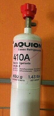 410 A Refrigerant 1.43 Lbs  22.88 Oz Can Integrated Feed Valve