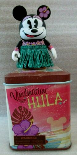"DISNEY - Hawaii Exclusive HULA MINNIE 3"" Vinylmation & Tin"