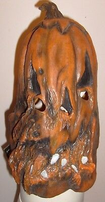 Twisted Pumpkin Mask & Gloves killer psycho HALLOWEEN COSPLAY COSTUME NEW TAG - Psycho Pumpkin
