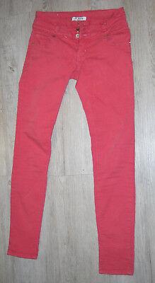 schöne Jeans, Hose, Röhrenjeans, Strech, Hüfthose von J WELLY, Gr. M (XS/S)