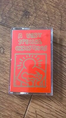 Rare Madonna A Very Special Christmas Various Artists Uk Cassette