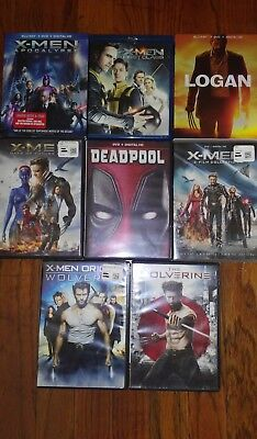 X Men Collection  All The X Men Movies Every Made   Includes Logan