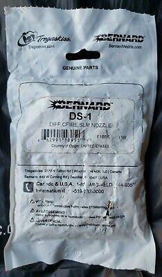 Bernard Ds-1 Gas Diffuser Centerfire Slim Nozzle 10 Pack