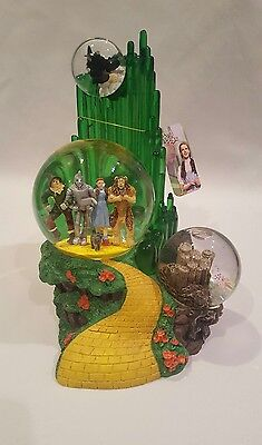 Westland Wizard Of Oz Snow Globe With Music Item 1820 Rare Item