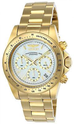 Invicta Men's Speedway Quartz Chrono 200m Gold Tone Stainless Steel Watch 24770