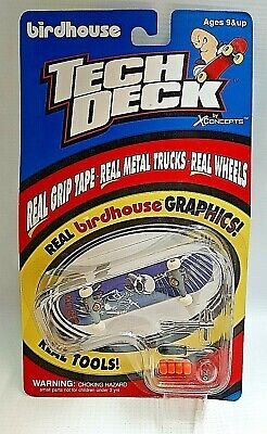 Vintage Tony Hawk Skull Skateboard Birdhouse Tech Deck #3070 NIP & Unopened!!!