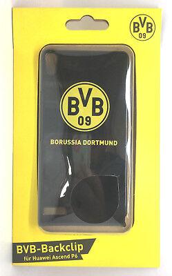 Borussia Dortmund BVB-Backclip passt für Huawei Ascend P6 Handy Hülle  gebraucht kaufen  Am Sandkopf