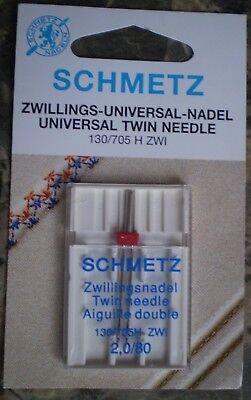 Schmetz Machine Needle - Universal Twin Needle  Size 130 / 705