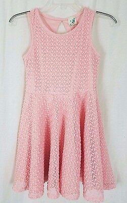 Lily Bleu Pink Spitze Langer Rock Sommerkleid Kleid Mädchen Größe 12 ()