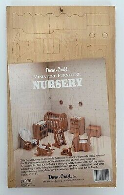 Dura Craft Assembly Model Kit Nursery  furniture Brand new