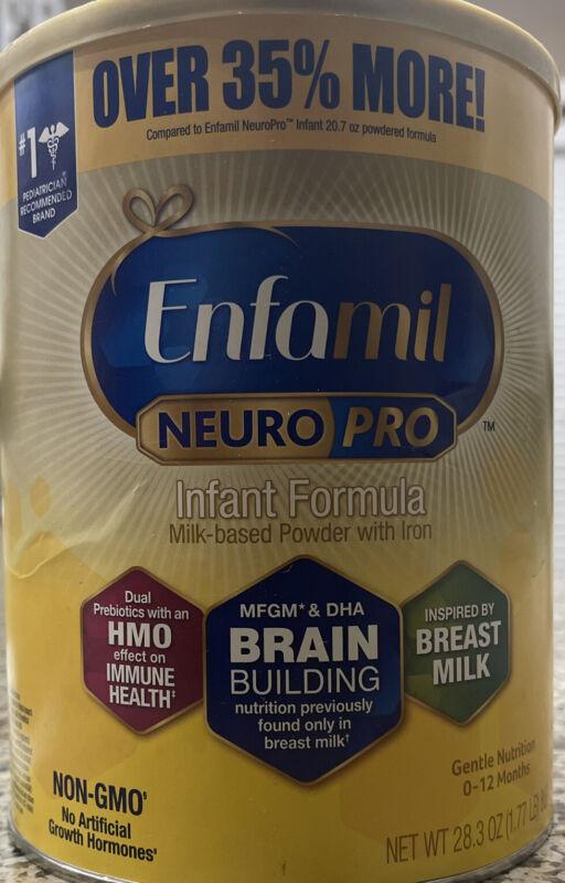 Enfamil NeuroPro Infant Formula Powder-28.3oz-Expiration 10/01/2021-NEW SEALED