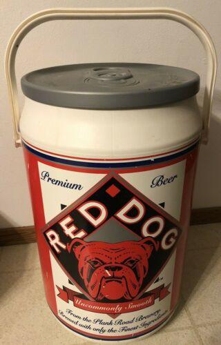 VINTAGE 1995 Red Dog Beer Cooler