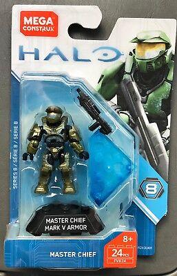 Neu Mega Construx Halo Serie 8 Master Chief Marke V Rüstung Minifigur FVK24 ()