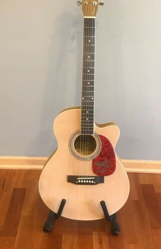 * DALLAS GREEN * signed acoustic guitar * CITY & COLOUR * ALEXISONFIRE * 2