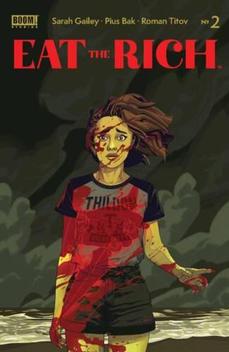Eat The Rich #1-2 | Select A B C D E F Covers | Boom! Studios NM 2021