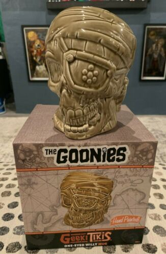 Geeki Tikis The Goonies One-Eyed Willy Pirate Skull Mug NYCC 2021 Exclusive NEW