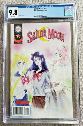 Sailor Moon #24 CGC graded 9.8 NM/M 2000 Mixx Entertainment Naoko Takeuchi Japan
