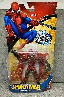 "Marvel Legends 6"" Spider-Man Classics Capture Web  2008 Action Figure Hasbro"