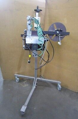 Epi Production Labeler 63u Application Head With Mobile T Base Stand
