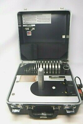 Ametek Model Pk Ii Pneumatic Dead Weight Tester W Ametek T-50 Weights