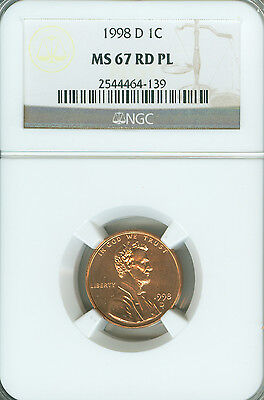 Click now to see the BUY IT NOW Price! 1998 D CENT NGC  MS 67 RD PL     .