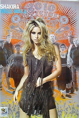 "SHAKIRA ""WAKA WAKA"" POSTER FROM ASIA - 2010 FIFA World Cup,  Latin Pop Music"