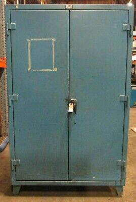 48 Stronghold Cabinet 46-12 W X 22-12 D X 69 H Interior Dim. 46073dh