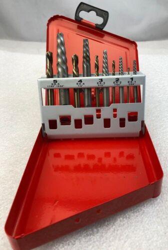 ICS Cutting Tools 10 piece Screw EXT & DR SET-LH-A, p/n SXDS-10LA