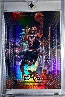 1999 99 Upper Deck History Class Refractor Like Michael Jordan #HC1 Bulls HOF (1999 Michael Jordan Upper Deck)
