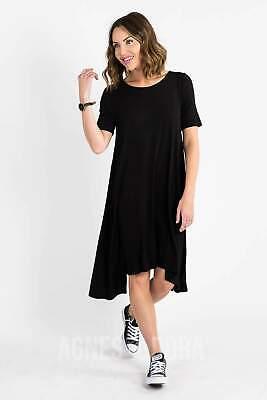 Agnes & Dora™ Sway Dress Black